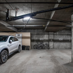 Heated underground parking